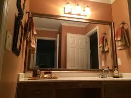 custom mirror frames frames bathroom mirror frames