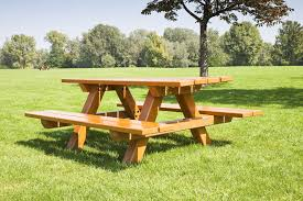 Building Plans For Picnic Table Bench by How To Build A Picnic Table Bench Ebay