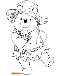winnie the pooh printable coloring pages 6 disney coloring book