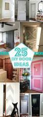 Closet Door Ideas Diy by 25 Diy Door Ideas Construction Haven Home Business Directory