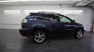 used lexus rx 350 washington state 2006 lexus rx 400h neptune blue mica 62006804 seattle