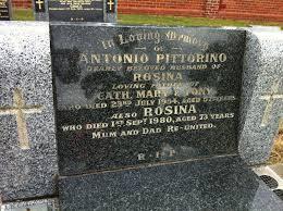 ANTONIO PITTORINO   Billion Graves Record - 4eea04961338a9b9be6252a50990fd83