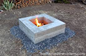 How To Make A Fire Pit In Backyard by Homemade Modern Ep46 Concrete Fire Pit