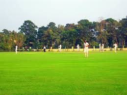 Jadavpur University Campus Ground