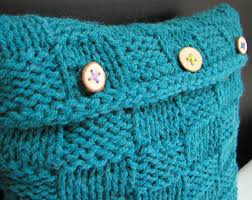Knitted Cushions With Buttons Checkerboard Cushion Cover How To Stitch A Knit Or Crochet