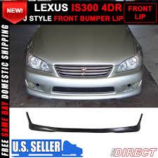 lexus is300 nz for 01 05 lexus is300 altezza sxe10 tr style front bumper lip