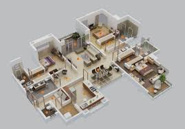 Big House Plans by Bedroom Dgg943 Lvl1 Li Bl 1 House Plans With Basement One Level