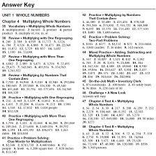 Glencoe Algebra   Chapter   Test Form  c Answer Key   holt algebra     lbartman com
