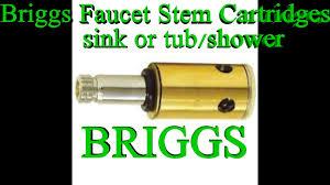 briggs 2 handle faucet drip kohler youtube