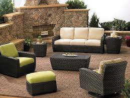 Black Wicker Patio Furniture Sets - patio 15 cheap patio furniture sets awesome outdoor sectional