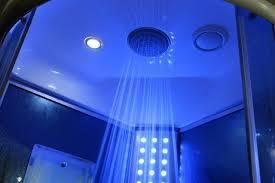 sliding door steam shower enclosure unit bathtub and showerhead