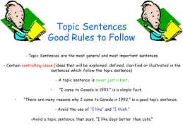Topic sentence thesis and hypothesis   drodgereport   web fc  com