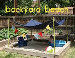 transformation of backyard into playground