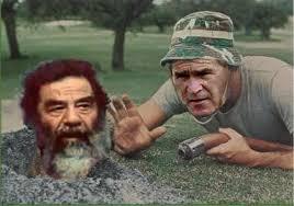 Szaddam és Bush
