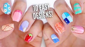 nail art nail polish designs easy for kids games girlsnail diy