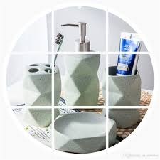 2017 simple nordic style bathroom four piece set bathroom
