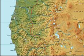 Map For United States by Oregon Map United States