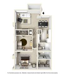 Two Bedroom Apartment Floor Plans Spacious 1 And 2 Bedroom Apartment Floor Plans Brookside Apartments