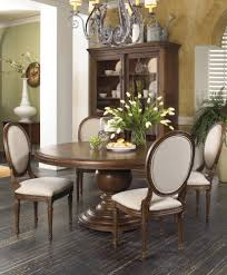 dining tables round to oval dining table gray driftwood color oak