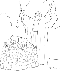 sunday abraham bible coloring pages