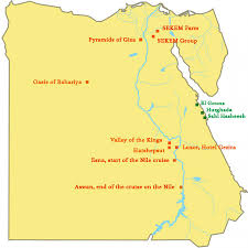 Map Of The Red Sea Sekem Plus The Red Sea