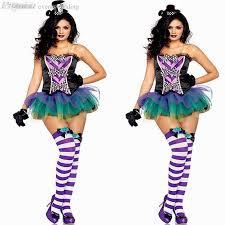 Clowns Halloween Costumes Discount Wholesale Halloween Costumes Women Cosplay Witch