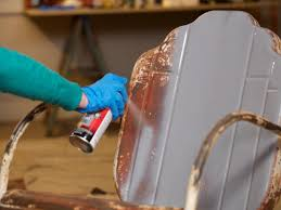 Spray Painting Metal Patio Furniture - how to paint an outdoor metal chair how tos diy