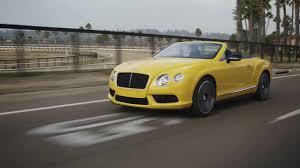 lexus convertible for sale kelowna bentley continental gt v8 s convertible monaco yellow youtube