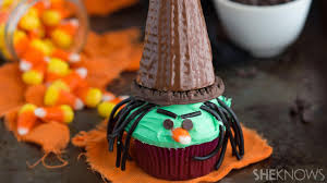 Fun Halloween Cakes Triple Chocolate Witch Cupcakes Are Fun For The Whole Family
