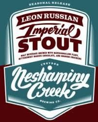 Neshaminy Creek Leon Russian Imperial Stout - 93 at RateBeer