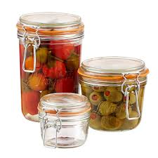 Glass Kitchen Canisters Airtight by Food Storage Food Containers Airtight Storage U0026 Mason Jars The