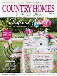 look out for country homes u0026 interiors august issue country days