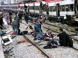 atentado terrorista en Madrid el 11 de marzo de 2004