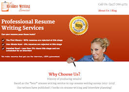 Professional Resume and CV Writing Services Reviews