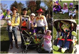 mom mart family halloween costumes toy story theme