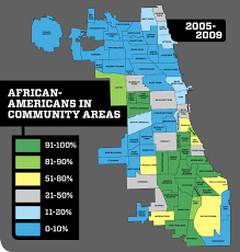 Chicago On The Map by Separate Unequal And Ignored Politics Chicago Reader