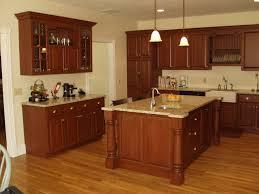 Kitchen Backsplash Ideas With Cherry Cabinets White Granite - Kitchen backsplash ideas dark cherry cabinets