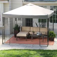 patio gazebos and canopies outdoor gazebo metal frame