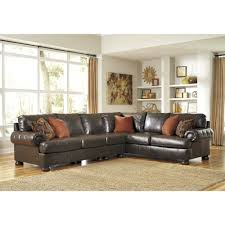Ashley Furniture Sectionals Ashley Furniture Nesbit Durablend Sectional In Antique Space