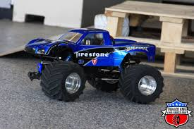 monster truck bigfoot 5 firestone bigfoot u2013 pro mod trigger king rc u2013 radio controlled