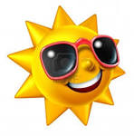 Smiling Summer Sun Character With Sunglasses As A Happy Ball ...