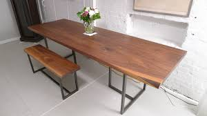 furniture long narrow dining table rectangular oak dining table