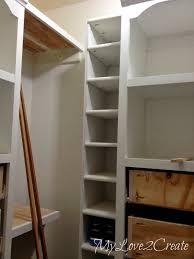 How To Make Closet Shelves by Slanted Wall Built Ins With Hidden Storage My Love 2 Create