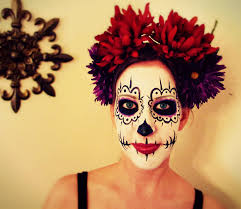 dead makeup halloween day of the dead makeup commission by mizjaytee on deviantart