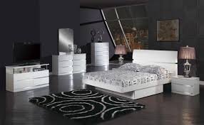 White Bedroom Collections Modern White Bedroom Furniture White Lacquer Finish Modern Bedroom