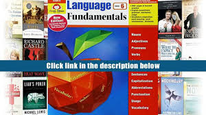 read language fundamentals grade 6 language fundamentals common