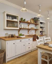 Kitchen Cabinets Plate Rack Free Standing Painted Kitchens With Seaside Chic John Lewis Of