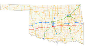 Oklahoma City Map Oklahoma State Highway 9 Wikipedia