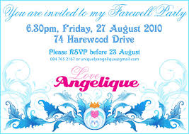 Free E Card Invitations Farewell Bbq Party Invitation Free Ecard For Your Inspiration
