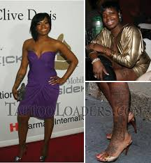 Fantasia Barrino Tattoos Designs